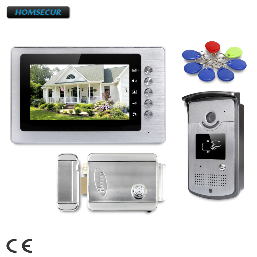 HOMSECUR 7inch Wired Video Door Entry Security Intercom with Intra-monitor Audio Intercom :  XC001+XM705HOMSECUR 7inch Wired Video Door Entry Security Intercom with Intra-monitor Audio Intercom :  XC001+XM705