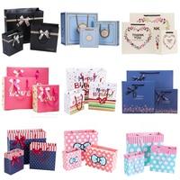 20PCS/LOT Cute Hand Painted Decor Supplies Gift Bag Candy Food Bags Fresh Gift Box Wedding Gift Packbag Christmas Party Hand Bag
