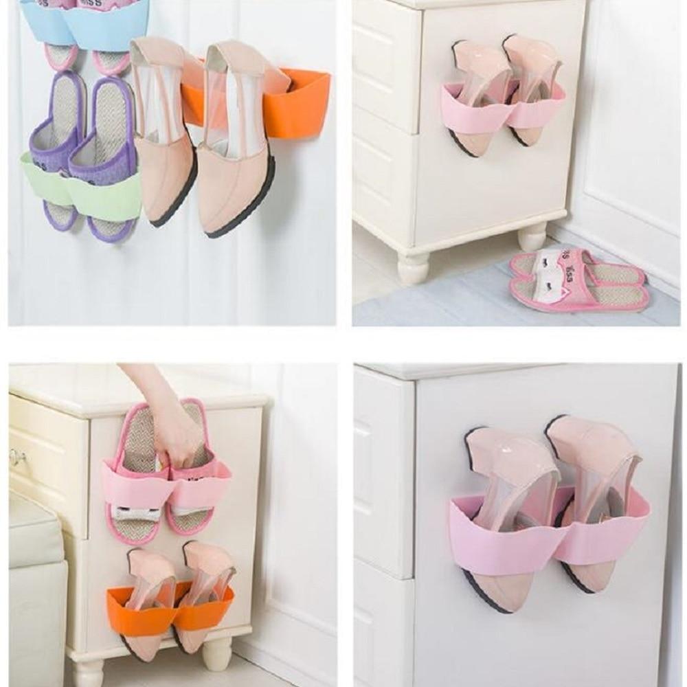 A1Integrated обувная стойка Shleves может регулировать маленький подставка для обуви обувной кронштейн простой бытовые контейнеры обувной шкаф LU11031559
