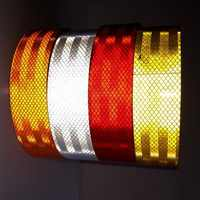 5M Reflective adhesive tape Reflective tape sticker Warning safety tape for Truck Car Motorcycle Free shipping