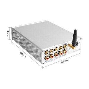 Image 2 - Brzalta fidelidade njw1194 bluetooth 5.0 aptx receber pré amplificador remoto 5 vias sem perdas entrega preamp com graves agudos led disply