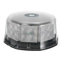NEW Safurance 16W 32LED Magnetic Round Car Roof Lamp Emergency Warn Strobe Flash Light Amber Traffic