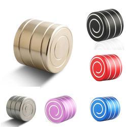 Vortecon кинетическая настольные игрушки Медь/Алюминий сплав декомпрессии гипноз Ротари гироскопа отпечаток пальца взрослого
