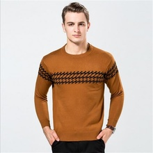 2016 male new style big size Light Soft Warm faux wool pullover man winter autumn fashion casual brief Comfortable knit sweater