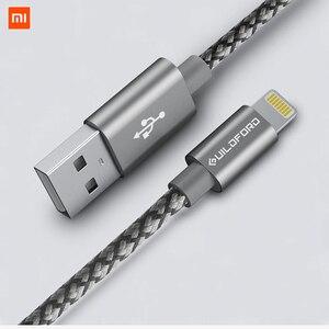 Image 1 - Original Xiaomi สำหรับ iPhone สายชาร์จข้อมูลได้อย่างรวดเร็วสำหรับ iPhone X XS สูงสุด 8 7 6 6 S 5 iPad mini USB Charger สายไฟ