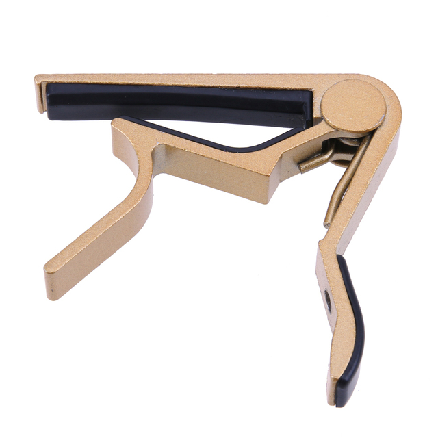 Guitar Accessories Aluminum Alloy Guitar Tuner Clamp Professional Key Trigger Capo for Acoustic Electric Musical Instruments 3