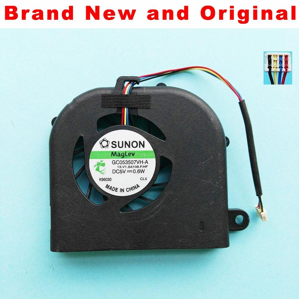Original novo ventilador de cpu para acer aspire 3810 3810 t 3810tg 3810tz 3810tzg cpu cooler ventilador de refrigeração Gc053507vh-A 13. v1.b4108.f.hf