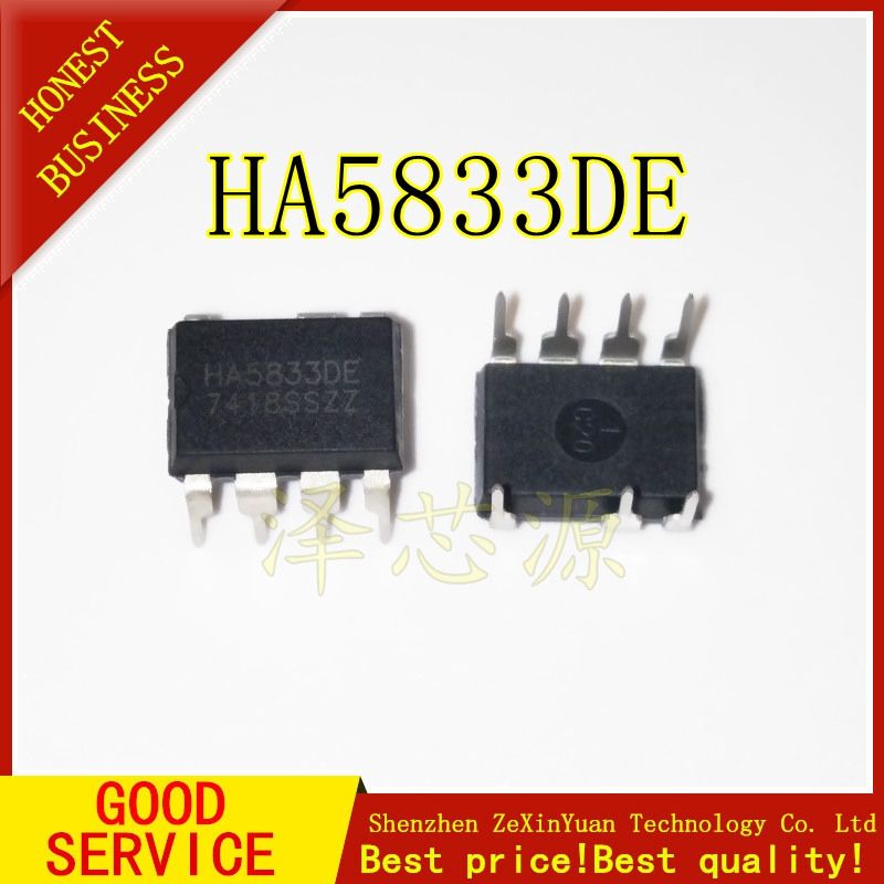 5PCS/LOT HA5833DE HA5833D HA5833 DIP-8