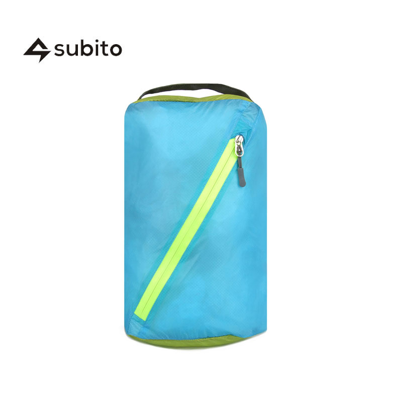 SUBITO S Size Inclined Slide Fastener Travel Kits Travel Stuff Bags Outdoor Camping Hiking Dry Waterproof Bags