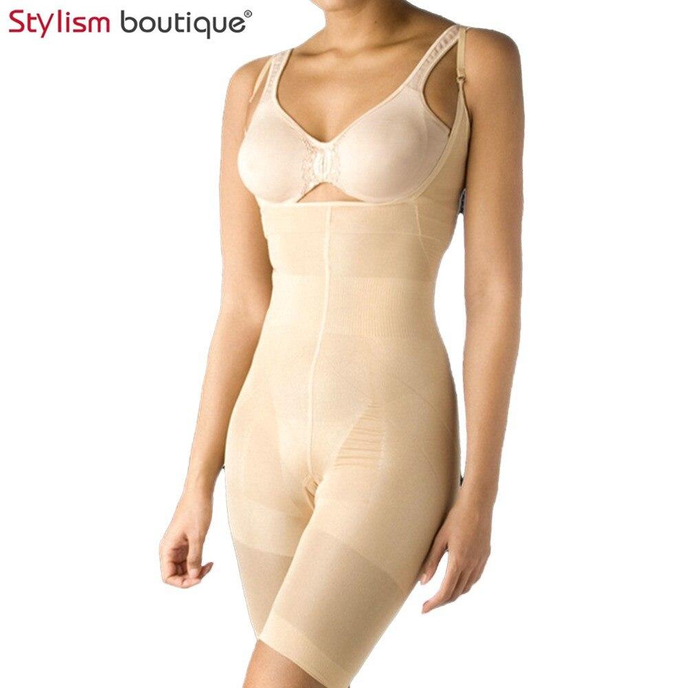 Bodysuit Women Body Shaper Waist Trainer Slimming Underwear Shapewear Butt Lifter Corsets Tummy Control Adjustable Belt