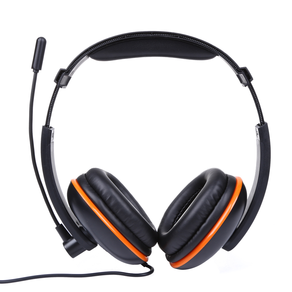 3.5mm Wired Gaming Headset Headphones Earphone With Microphone For PS4 Games Headphones with Noise Cancelling
