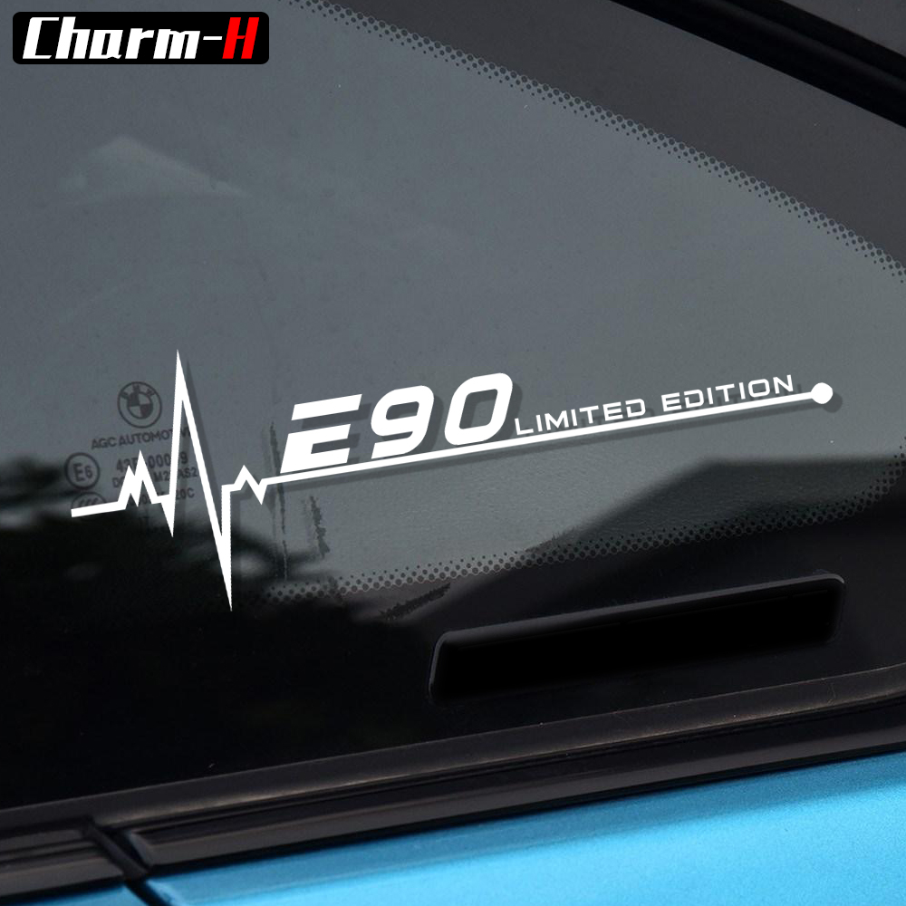 Car Styling Reflective Window Decal Sticker for BMW E28 E30 E34 E36 E39 E46 E60 E61 E62 E70 E87 E53 E90 E91 E92 E93 Accessories maserati granturismo carbon spoiler