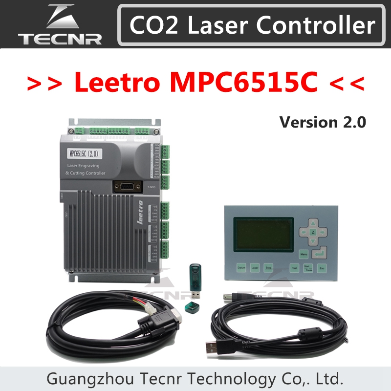 Leetro MPC 6515C laser DSP controller 3 axis motion for CO2 laser cutting machine replace MPC 6515 MPC 6515A
