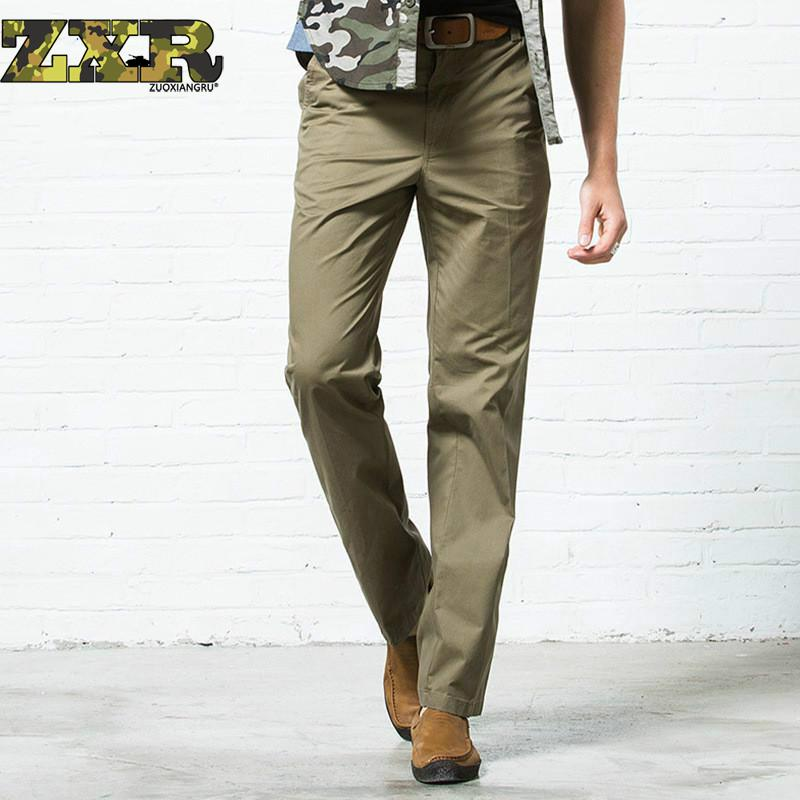 Trousers Cargo-Pants Jogger Multi-Pocket Military Army-Style Male Baggy Straight Camo
