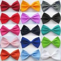 En gros 50 pcs/lot Chien Chat Chiot Cravates Mix Couleurs Chien Chiot chat Chaton Pet Toy Kid Bow Tie Réglable Bowtie Vêtements décor