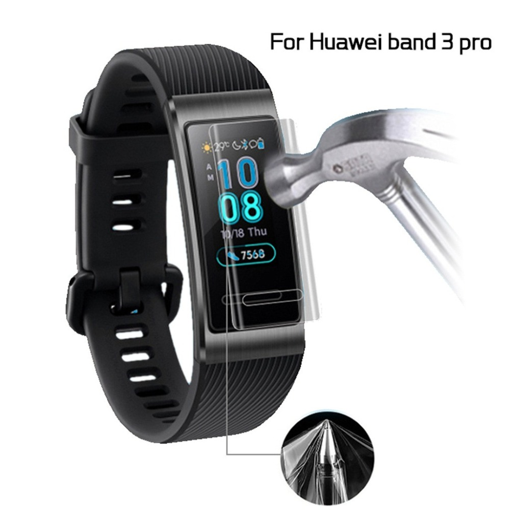 Full-Screen-Protector Smart-Bracelet Huawei Protective-Film Band for 3-Pro TPU Explosion-Proof