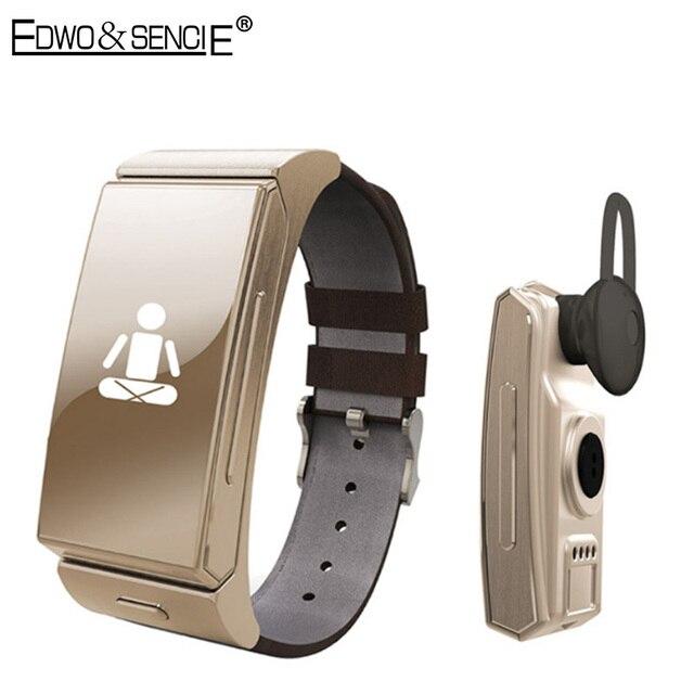 EDWO U20 Bluetooth Smart Wristband Bracelet Heart Rate Pedometer Fitness Tracker Smartband For iOS Android PK Xiaomi Mi Band