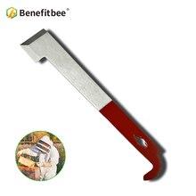 톱 브랜드 benefitbee 양봉 도구 꿀벌 하이브 꿀 나이프 벌을위한 uncapping scraper 다기능 도구 양봉 유지