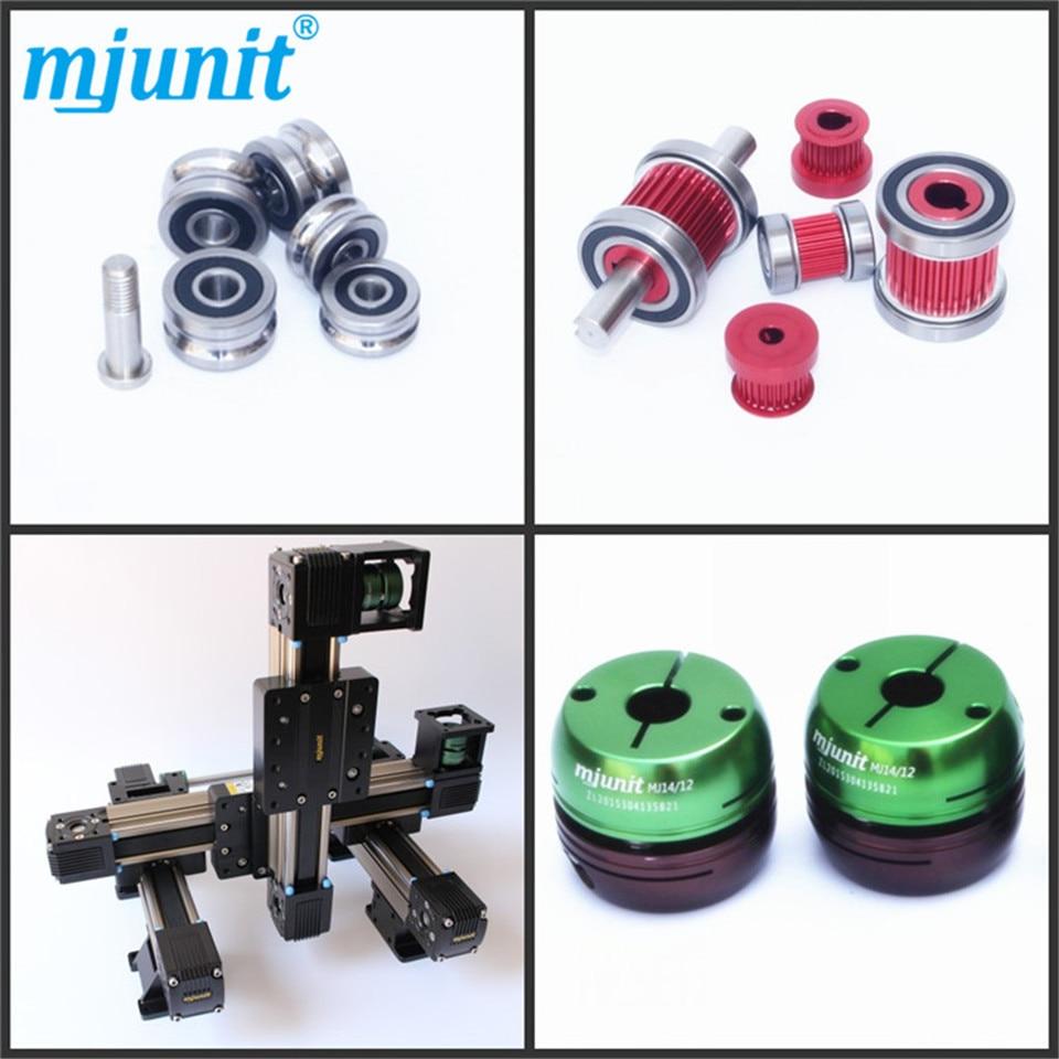 mjunit Linear motion module three axis slide 3D glue spray/adhesive spraying