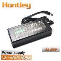 Hontiey Power Supply 5A 60W AC 110V 220V DC 12V Lighting Transformers LED Strip Driver Plug