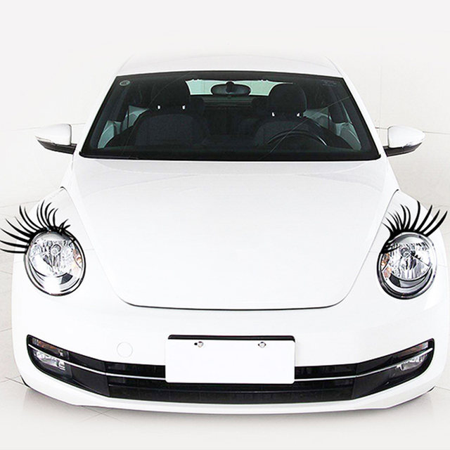 Online Shop Car Sticker Cute Cartoon Sticker Mascara Sticker False