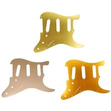 1 pc Guitar Accessories SSS Pickguard Metal Finish Surface For ST Electric Parts