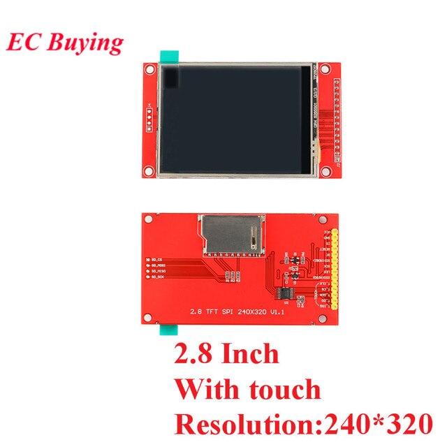 1.44/1.8/2.0/2.2/2.4/2.8 Inch TFT Color Screen LCD Display Module Drive ST7735 ILI9225 ILI9341 Interface SPI 128*128 240*320 5