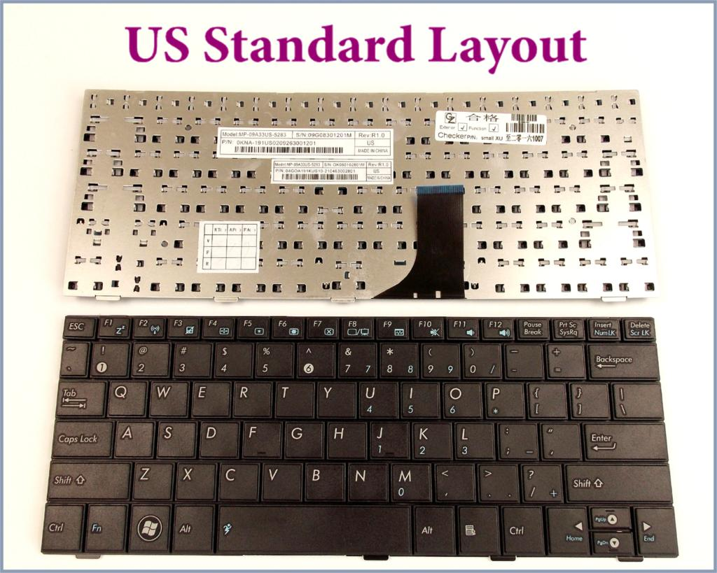 us english layout keyboard for asus eee pc 1001 1001h 1005 1005h 1005hd hab 1008 1008h laptop in. Black Bedroom Furniture Sets. Home Design Ideas