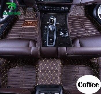 Top Quality 3D Car Floor Mat for Volkswa Sagitar Foot Mat Car Foot Pad Black Coffee Beige Brown Left Hand Driver Carpet KF-A2134