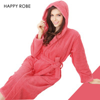 Toweled Bathrobes Hooded Cotton Male 100 Women S Robe Autumn And Winter Waste Absorbing Thick Soft