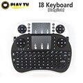 Original i8 i8 2.4G mini wireless Inglés teclado Air Mouse con Touchpad para android tv box PC Portátil Tablet Mini PC