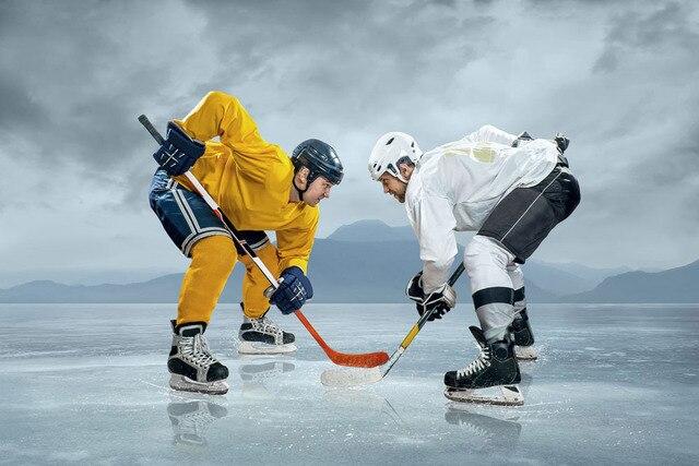 Ice Hockey Player Diy Diamond Painting Cross Stitch Home
