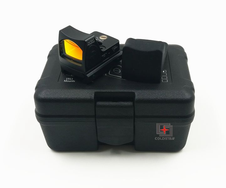 RMR Dot Sight Airsoft Shotguns Holographic Sight With Mini-mirror &1913 Glock Mount Hunting Air Gun Rifle Weapon Red Dot Scope