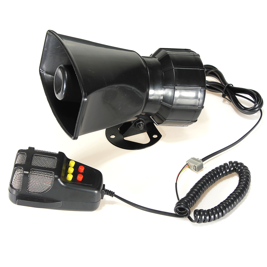 US $12 87 |12V Trumpets Horn Speaker miniphone Auto Moto 105db Cow + Sirens  + Songs-in Bicycle Bell from Sports & Entertainment on Aliexpress com |