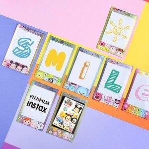 Image 3 - Original Fujifilm Fuji Instax Mini 9 8 Stripe Film 10 Sheets For 70 50s 7s 90 25 Share Instant Cameras Rainbow Macaron Comic