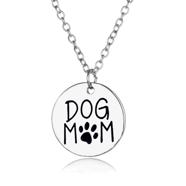 Dog Heart Charm Necklace 4
