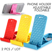Mini Mobile Phone Holder 3D Portable Adjustable Universal Foldable Stander For iPhone Samsung Xiaomi Huawei All Phones