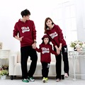 Family Look 2016 Autumn Family Clothing Long Sleeve Cotton Mother Daughter Father Baby Girl Boy Clothes Family Matching Clothes