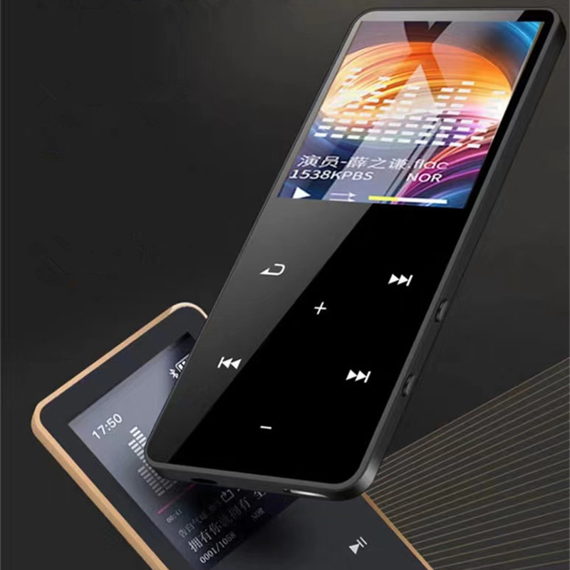Music-Player Bluetooth-Support E-Book Fm-Radio Hifi Mp3 Touch-Key Sport 8GB JS-04