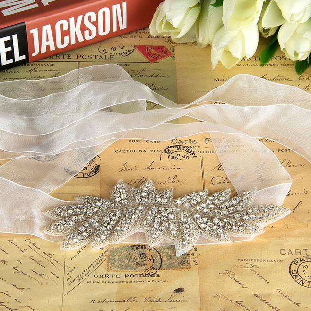 New arrival Handmade Wedding Belt Crystal Rhinestone Czech Stones Bridal Jewelry Formal Wedding Evening Dress Belt