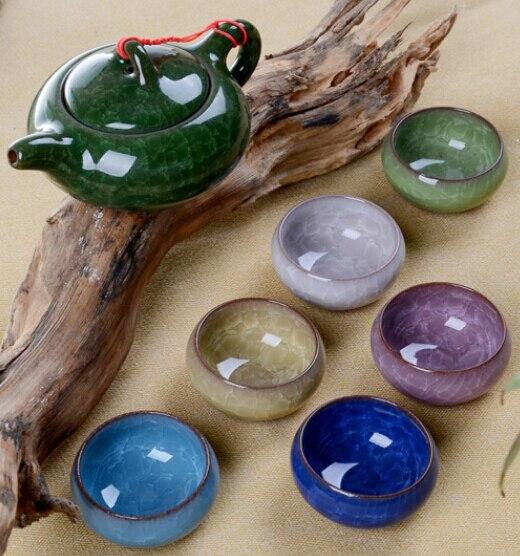 Promotion Free Shipping Elegant Chinese Ceramic cups Genuine Kung Fu Tea Set Chinaware tea set Teapot