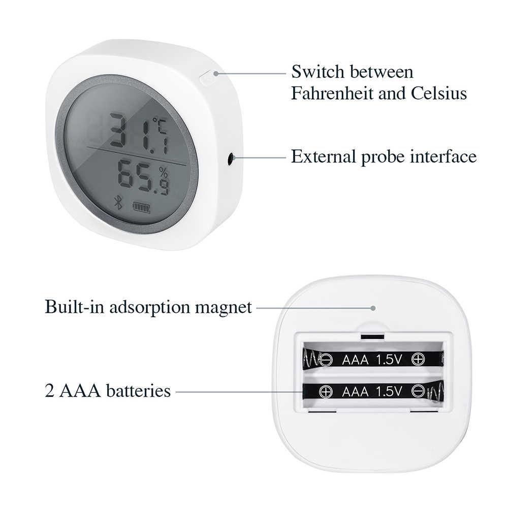 INKBIRD IBS-TH1 плюс термометр и датчик гигрометра регистратор данных Метеостанция для заваривания мяса завод Хранения Сигар автомобиля домашних животных