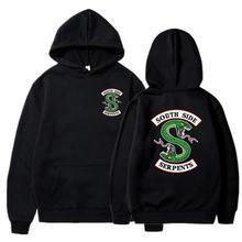 New South Side Serpents Hoodie Sweatshirt Hip hop Streetwear Autumn Spring Hoodies Men fashion Riverdale hoodie