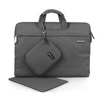 Gearmax Laptop Sleeve Gray Blue Pink Green Men Women Notebook Bag Canvas Laptop Sleeve 11 12