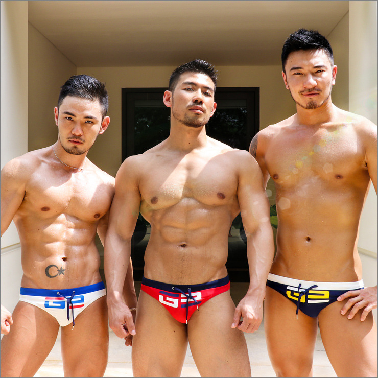 2018 Hot Summer Man Swimsuits Low-Rise <font><b>Sexy</b></font> Swimwear Quick Dry Man Bikini Comfortable Man Briefs mayo <font><b>costumi</b></font> <font><b>da</b></font> <font><b>bagno</b></font> <font><b>donna</b></font> image