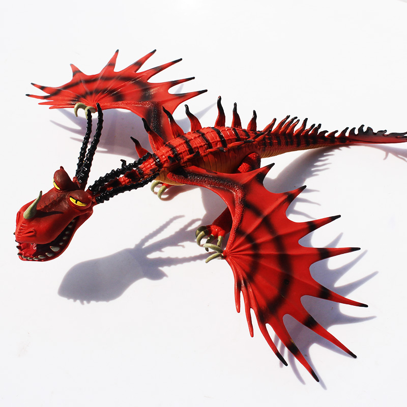 How To Train Your Dragon Deadly Nadder Hageffen Gronckle Doll Anime PVC Childs Toys Toothless Night Action Figure Toy