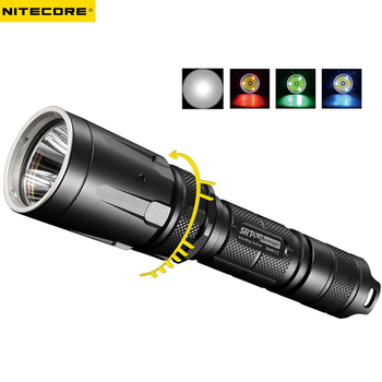 LED Outdoor Tactical Flashlight NITECORE SRT7 CREE XM-L2 T6 max. 960LM beam distance 308 meter SSR torch for search & rescue
