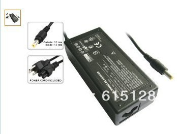 NEW Laptop AC Adapter/Power Supply/Charger+US Power Cord for Acer Aspire 19V-3.42A-65W - Input : 100-240V ~ 1.2A 50/60 Hz