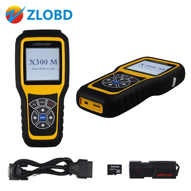 US $309 0 |2018 Newest OBDSTAR X300M Professional for Odometer correction  OBDII X 300 M 100% Original free update online X 300M Free ship-in Auto Key
