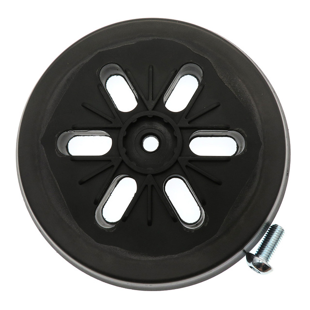 """6 """"6-hole 6 Polegada 150mm almofada de lixamento almofada de apoio lixadeira para gancho e loop lixar discos abrasivos ferramentas elétricas acessórios"""